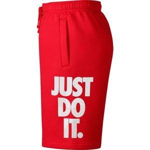 Nike Just Do It Sweat Shorts Mens L NWT